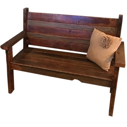 Rustic Trim Bunk Beds Raised In A Barn Furniture