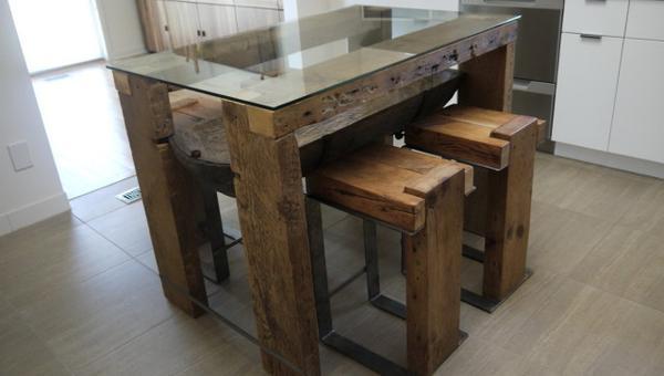 Reclaimed Wood Furniture Ideas Raised, Barn Wood Furniture Ideas