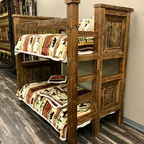 Rustic Trim Bunk Beds