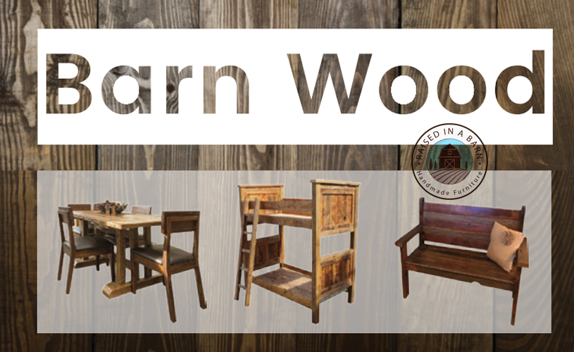 Rustic Barn Wood Furniture