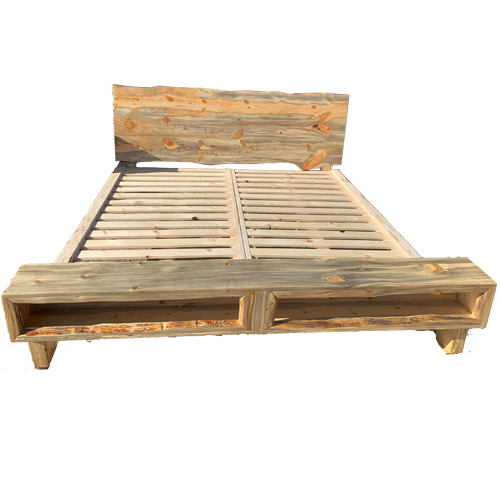 Barnwood King Bed