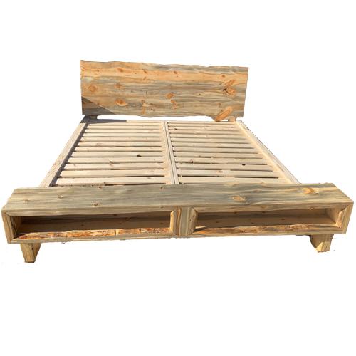 Barnwood King Bed