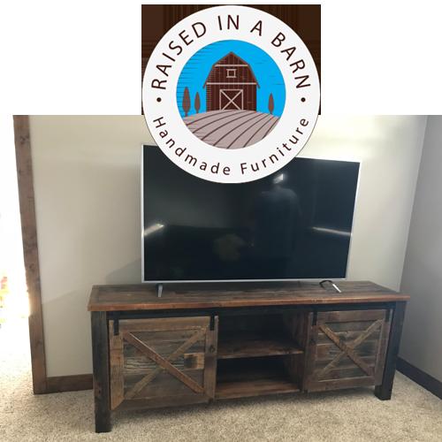 Rustic Barnwood TV Stand