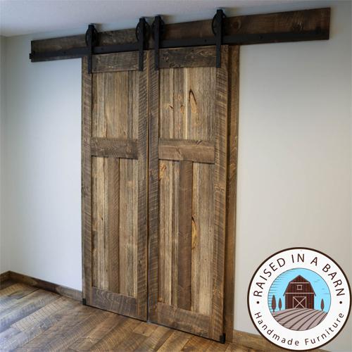 reclaimed barnwood doors